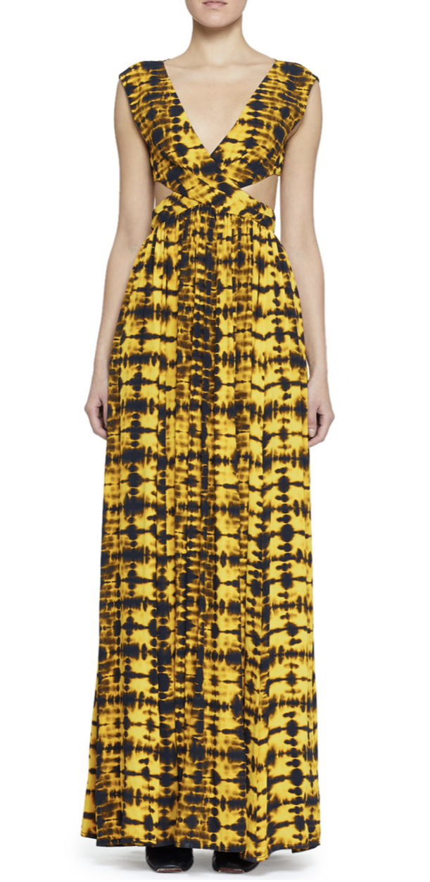 Proenza Schouler Tie Dye Maxi Dress, $1,090