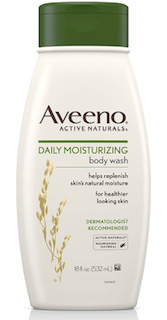 Aveeno Daily Moisturizing Body Wash, $7