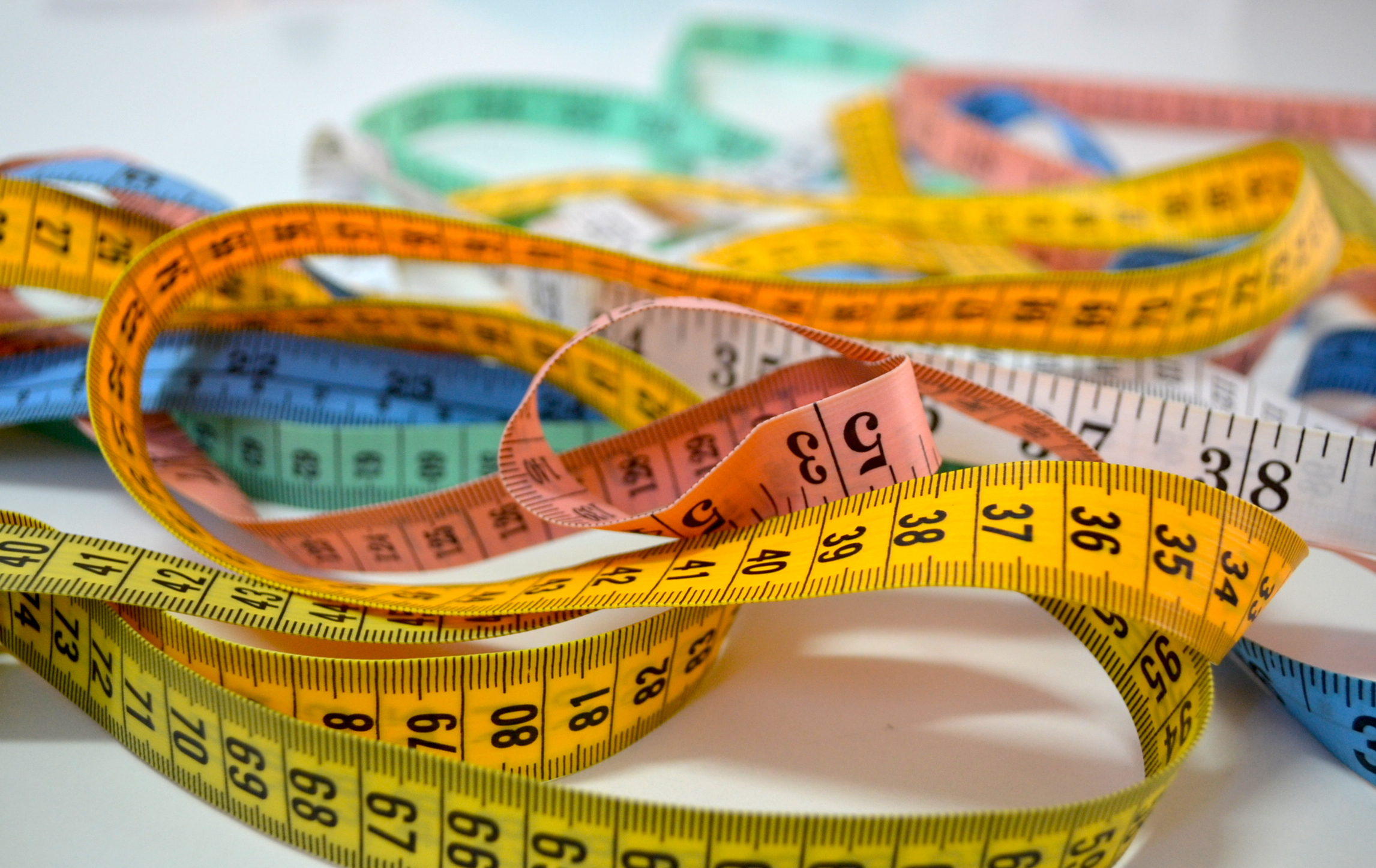 You'll need a measuring tape like one of these to calculate your body shape.
