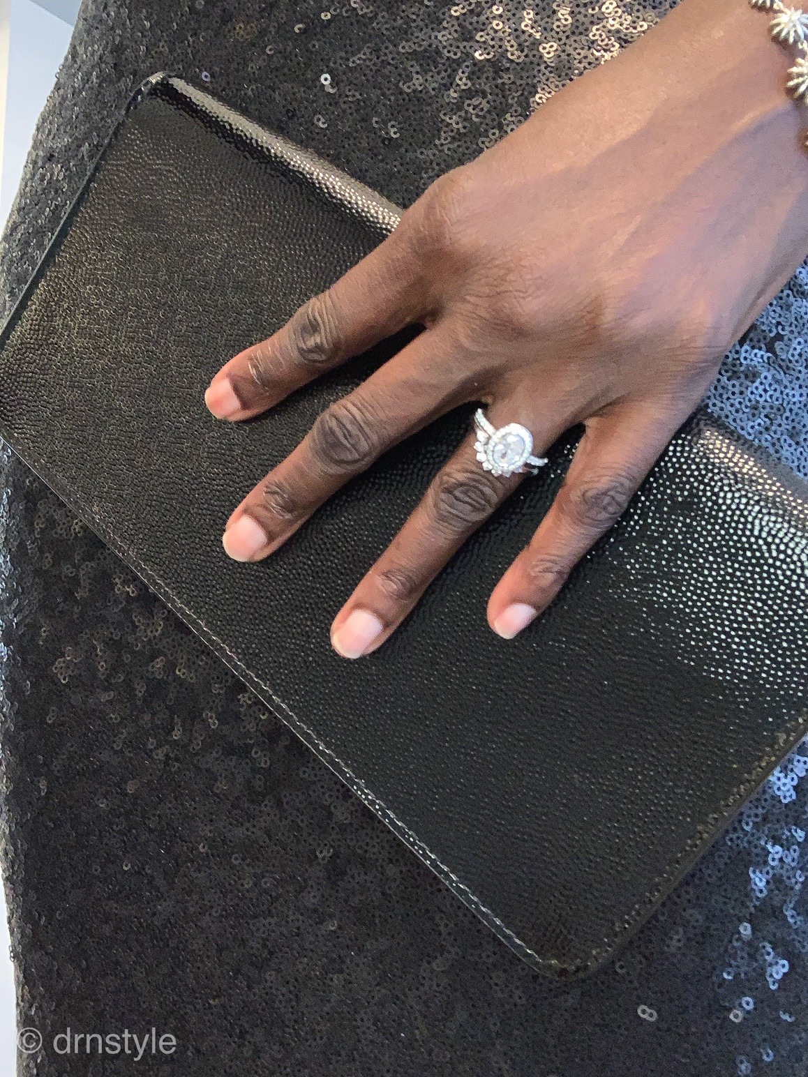 I dressed up my ethically sourced and sustainably made diamond ring, and dressed it down, to see what it would be like to wear it everyday.