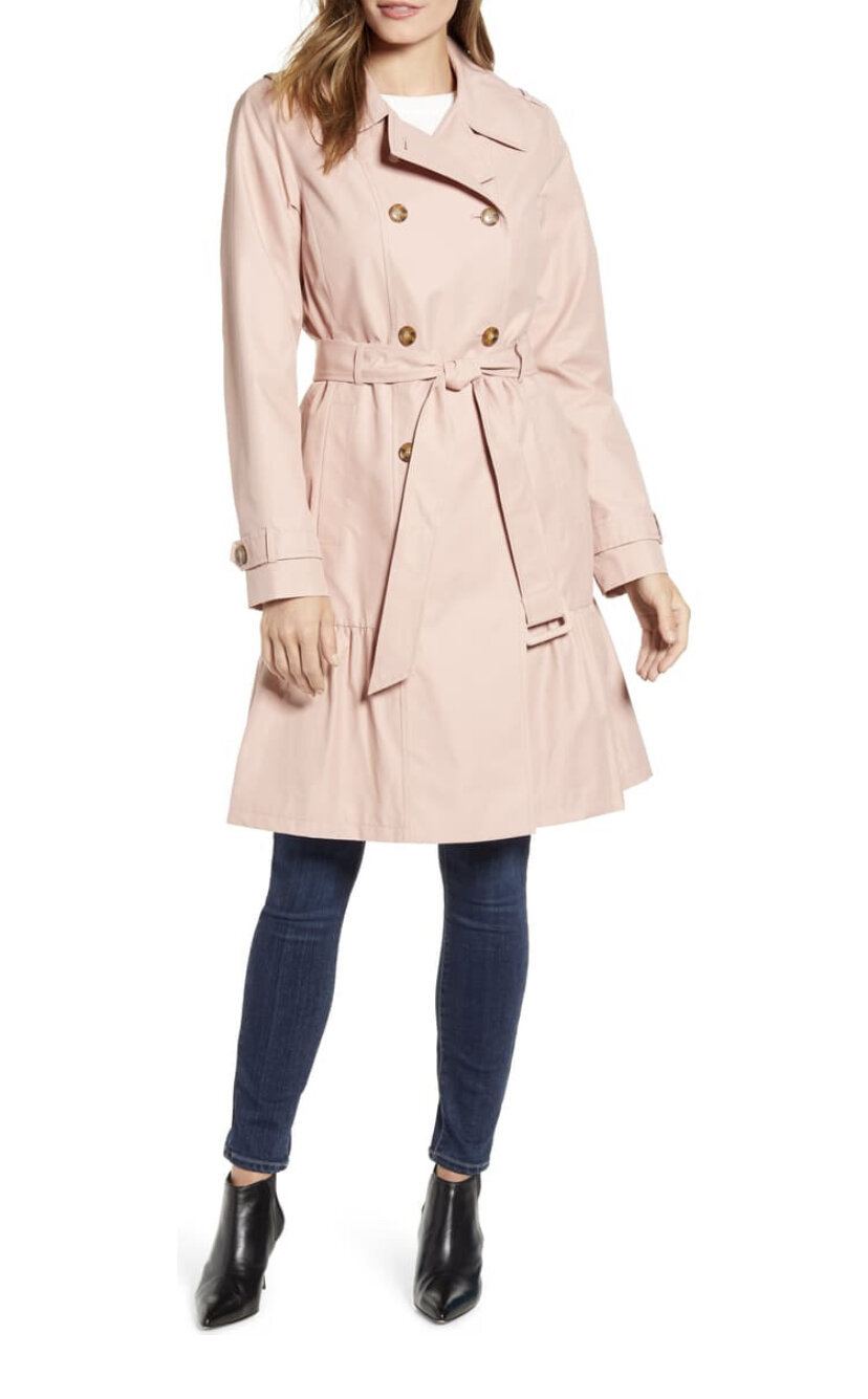 Belted Trench Coat, Kate Spade New York, $328