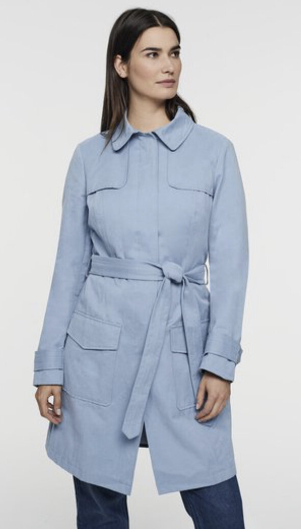 Belted Trench Coat, Long Tall Sally, $219