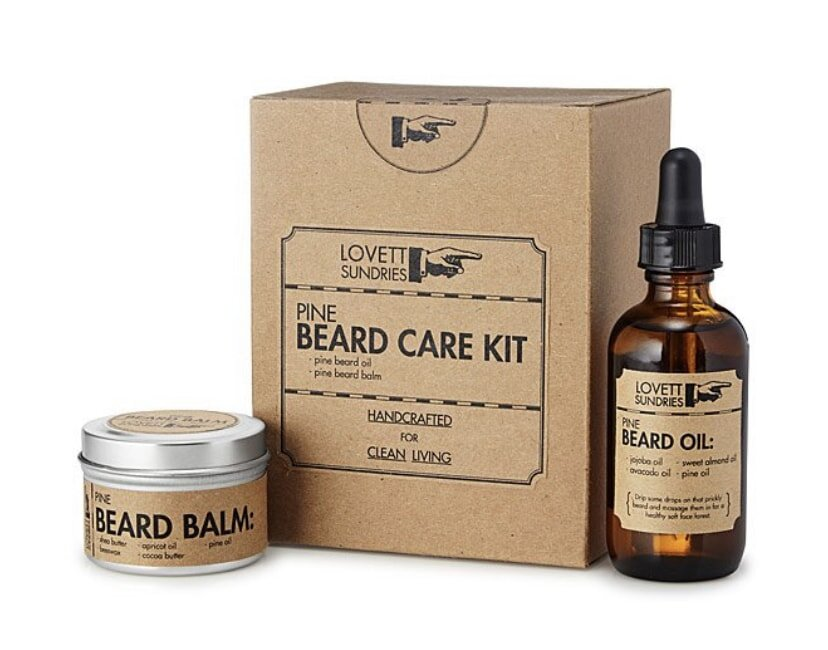 Beard oil and beard balm makes great Christmas gift for brother, husband or dad.