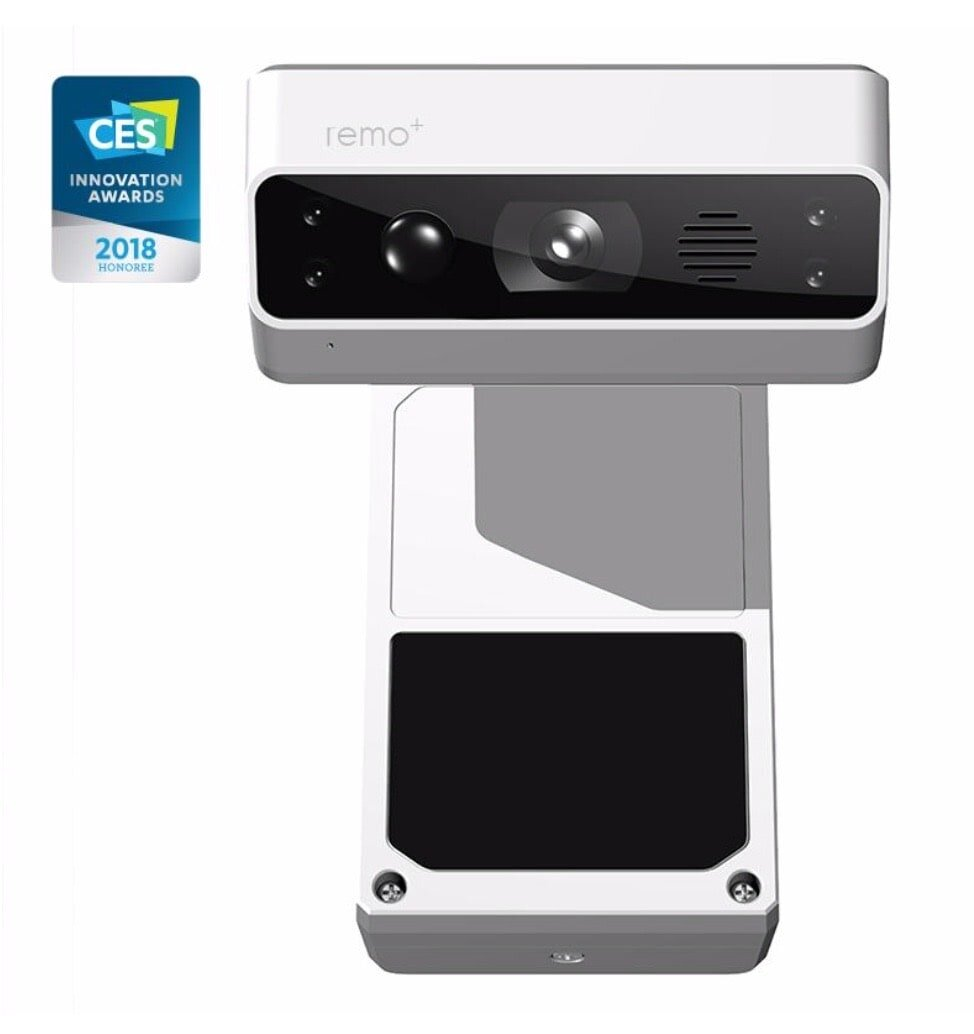 Remo plus door camera with HD video, motion sensor, 2-way talk and night vision.