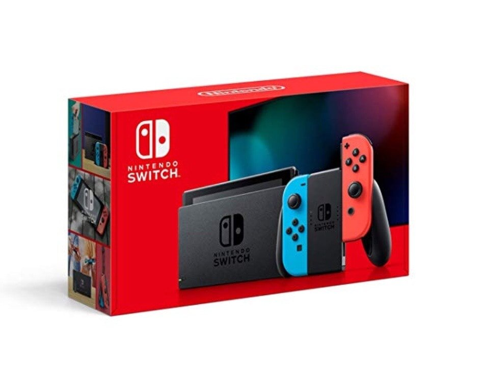 Nintendo switch for your gamer for christmas.