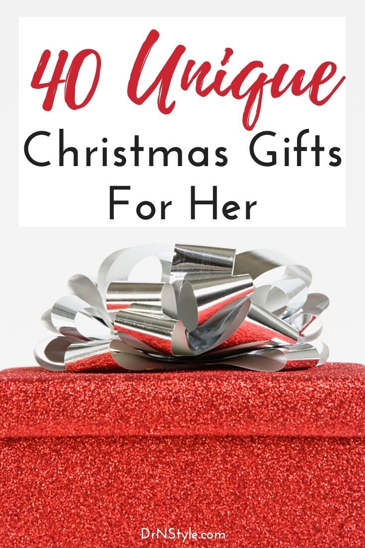 40 Unique Christmas Gifts for Her