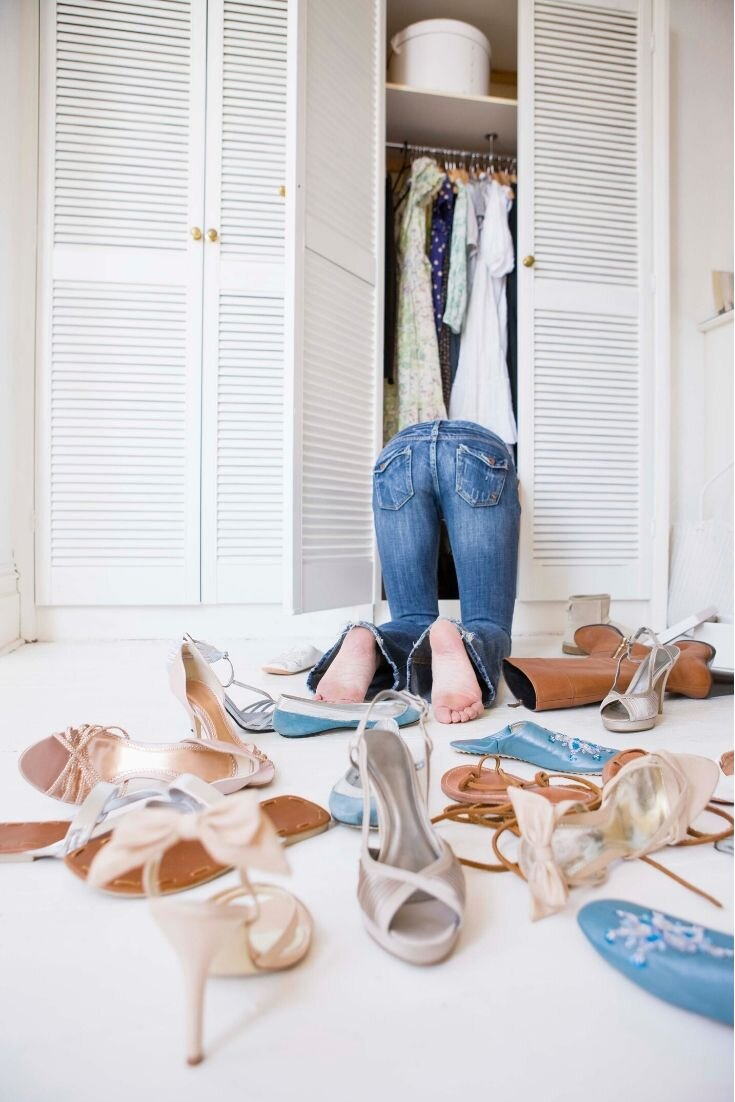 How often should you be clearing out the closet clutter?