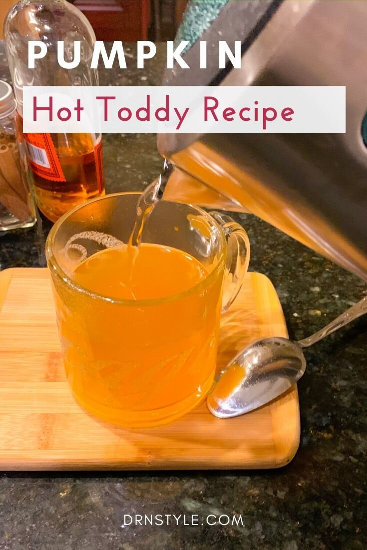 Pumpkin Hot Toddy Recipe with Apple, Maple, and Whiskey