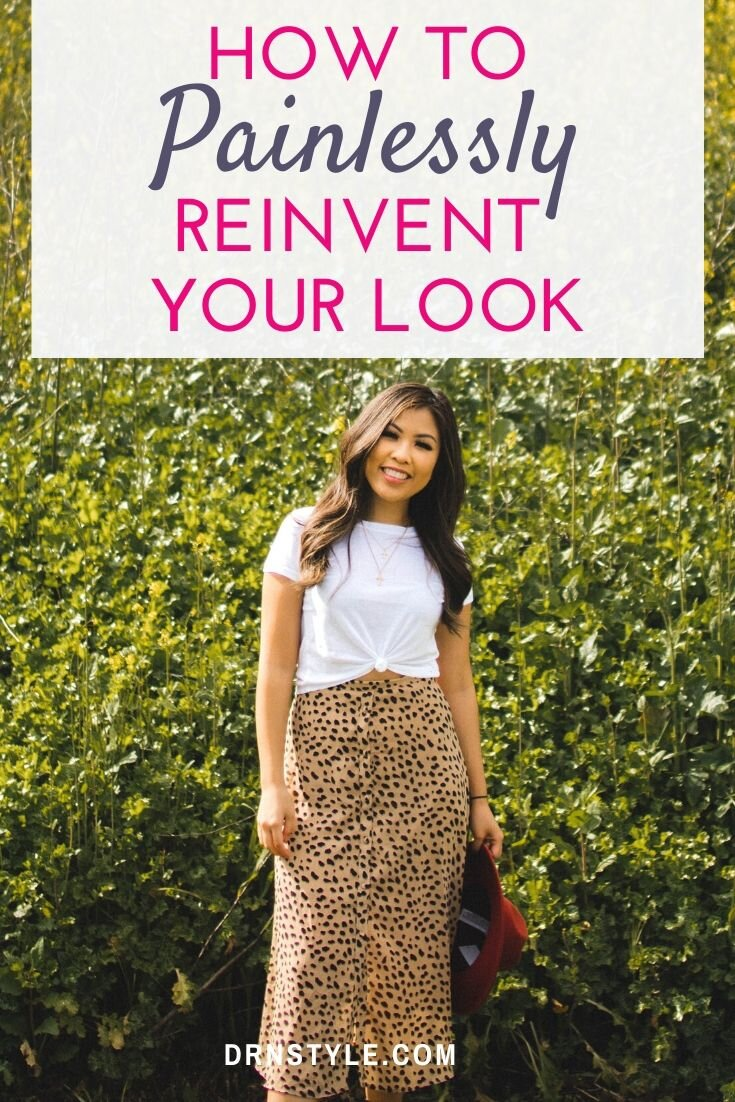 How To Reinvent Your Look and Put Together a New Wardrobe