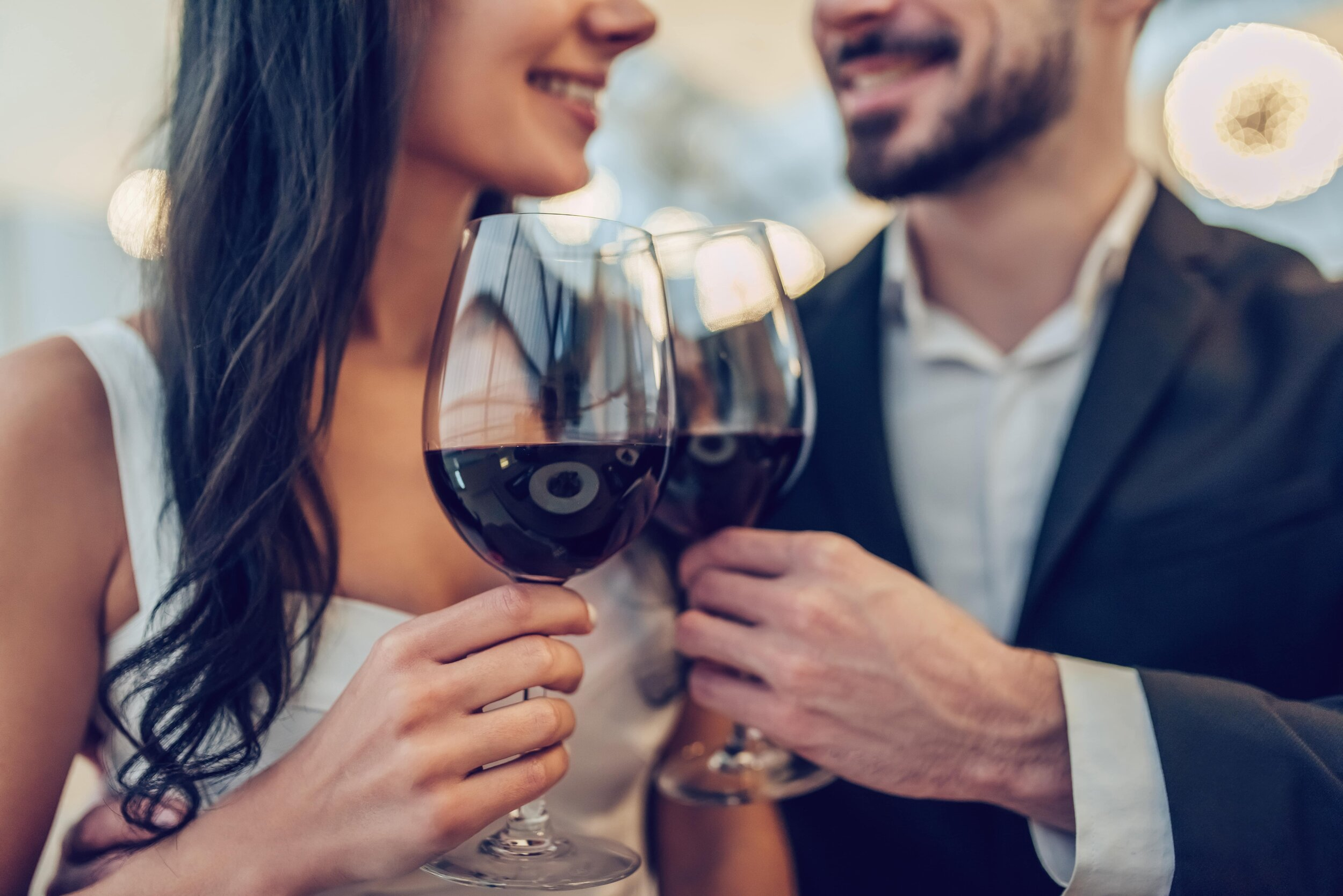 One of the best date night ideas for Valentine's day is to go wine tasting.