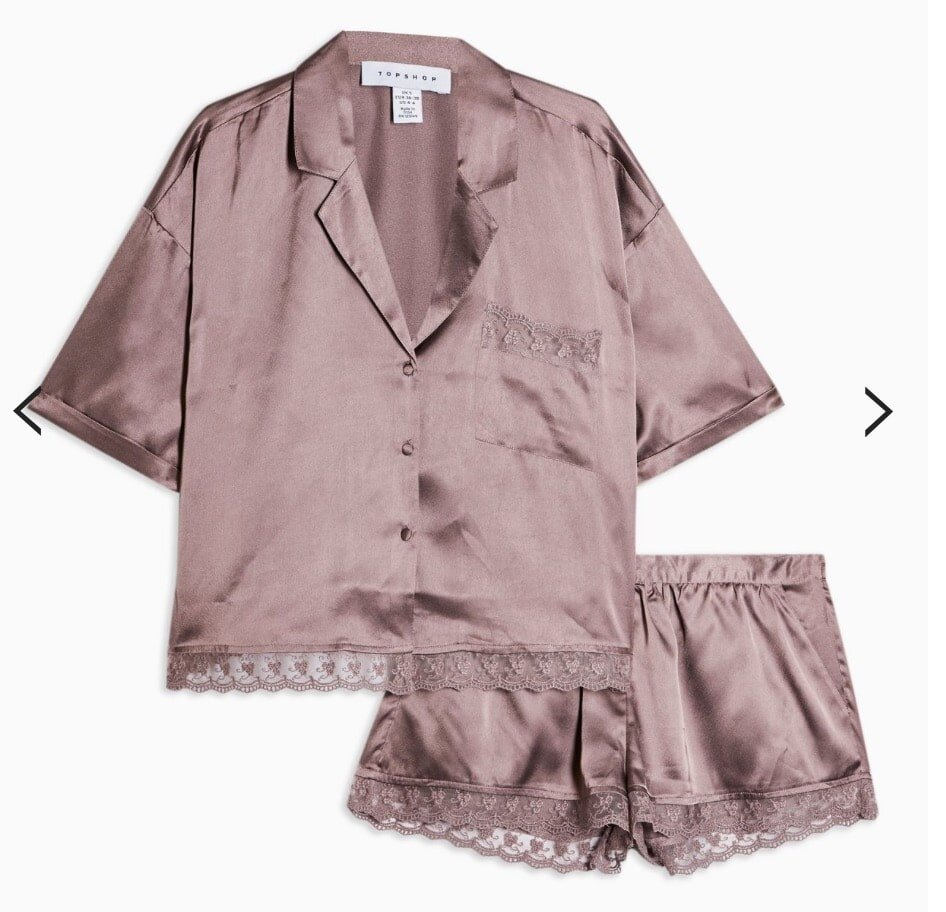 Valentine's Day gifts for her satin pajamas