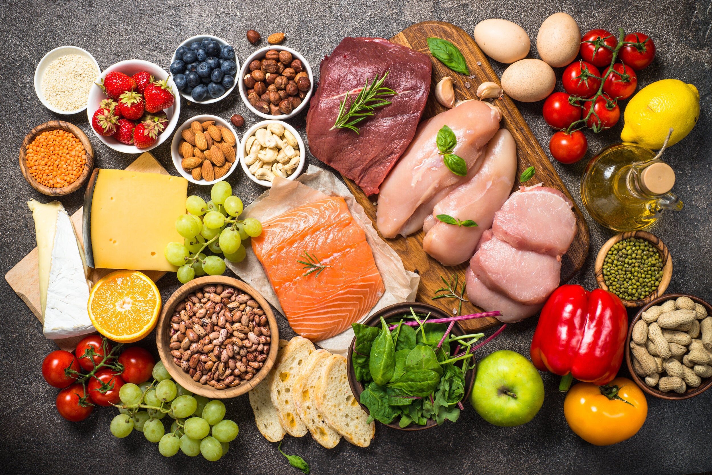 A wide selection of foods to get your body to ketosis fast.  Follow these proven tips and guidelines to get your body into ketosis as quickly as possible and stay in ketosis. Skyrocket your weight loss by avoiding common mistakes. #keto #weightloss #week1 #ketoforbeginners #startingketo #ketoexplained #losingweight #loseweightquickly