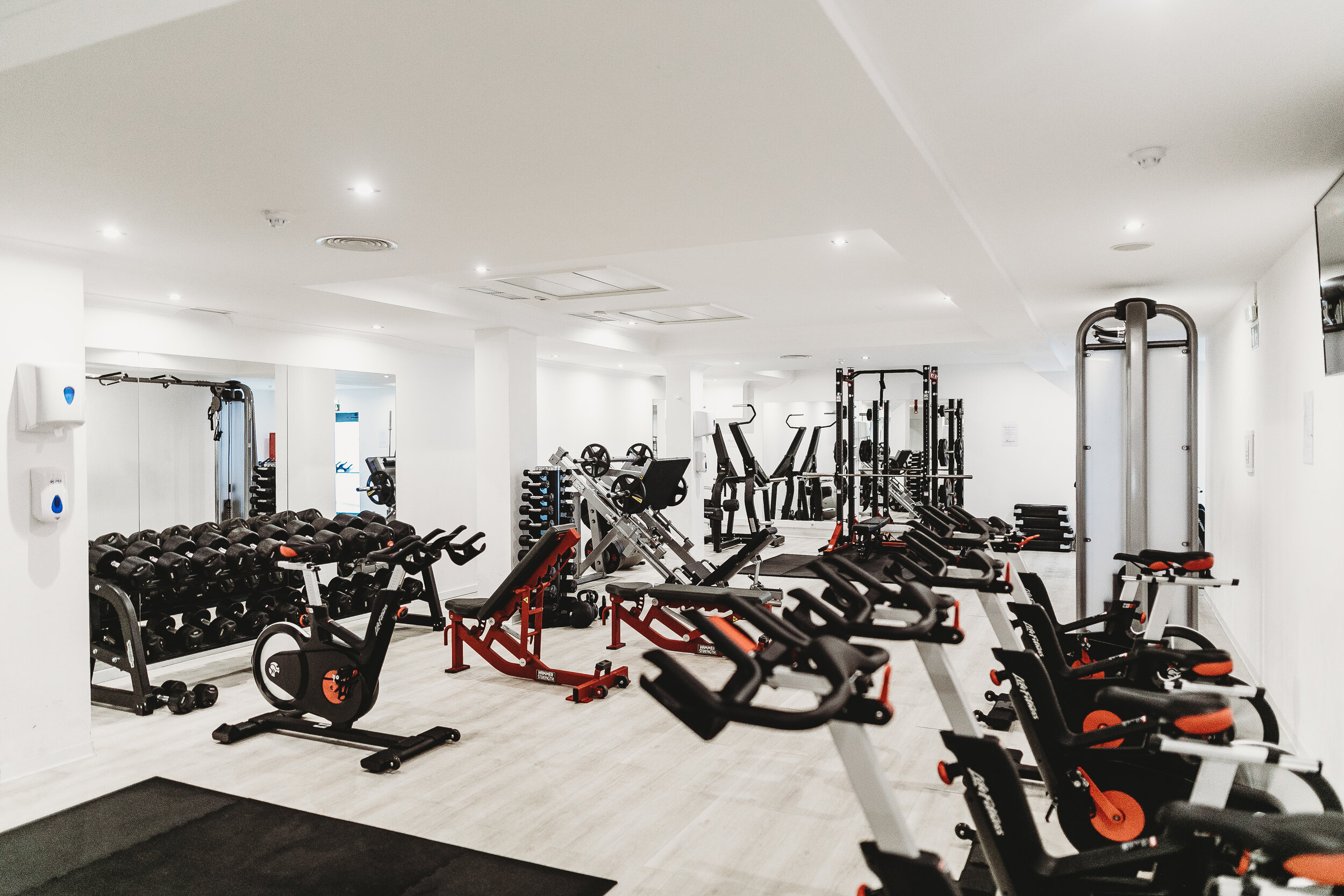 An Empty Gym Because Everyone Needs To Learn How to Workout and Lose Weight When You're Busy