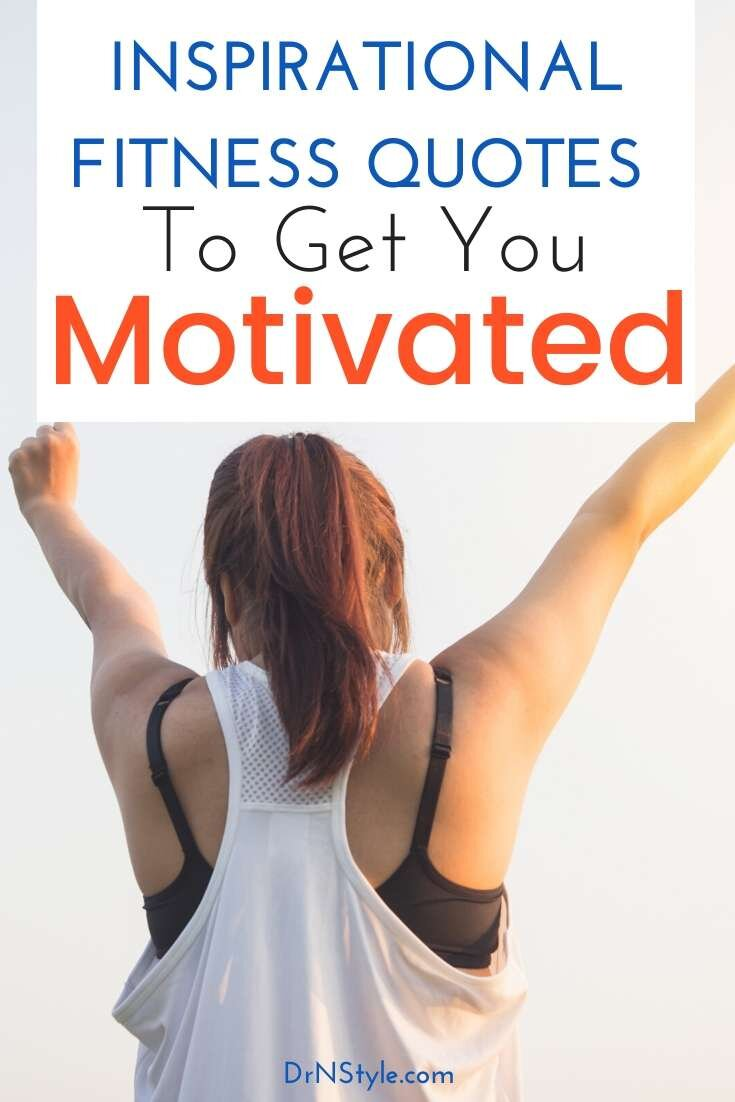 Woman with arms raised, successful in reaching fitness goals because of the help of inspirational quotes to getting her motivated