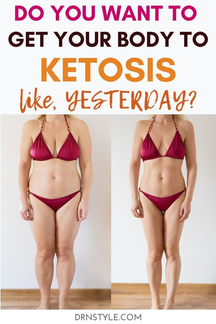 Follow these proven tips and guidelines to get your body into ketosis as quickly as possible and stay in ketosis. Skyrocket your weight loss by by avoiding common mistakes. #keto #weightloss #week1 #ketoforbeginners #startingketo #ketoexplained #losingweight #loseweightquickly #ketogenicdiet