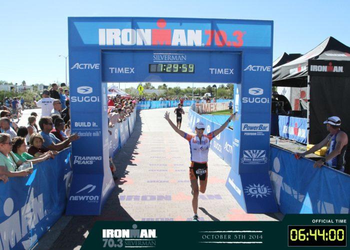 Half Ironman triathlon, benefiting  Crohn's & Colitis Foundation .