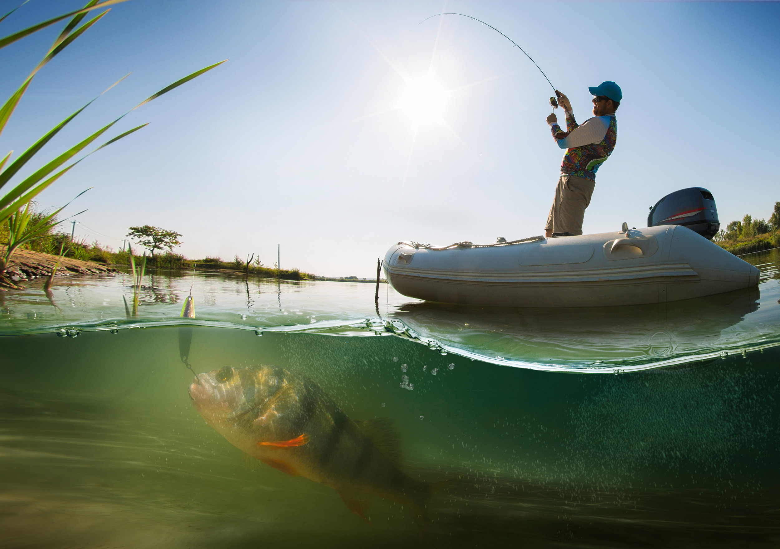 3.) It's also one of the country's top spots for bass fishing.