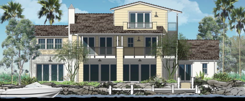 With six available floor plans and a multitude of options, The Davidson Collection provides its homeowners with a sense of living within nature on the water's edge. Prices now range from the low $1 millions-  View The Davidson Collection.