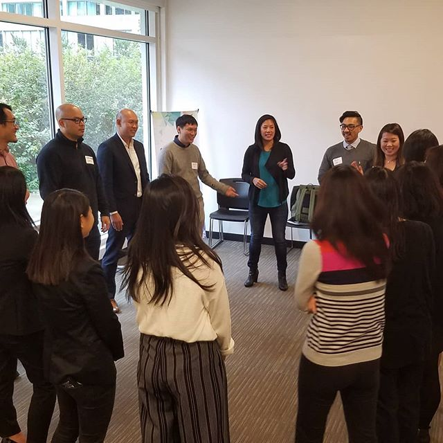 Improv workshop with Comedy Sportz Boston founder Courtney Pong. @courtneypong #AceNextGen #BetterTogether #WalmartAction #southwestair