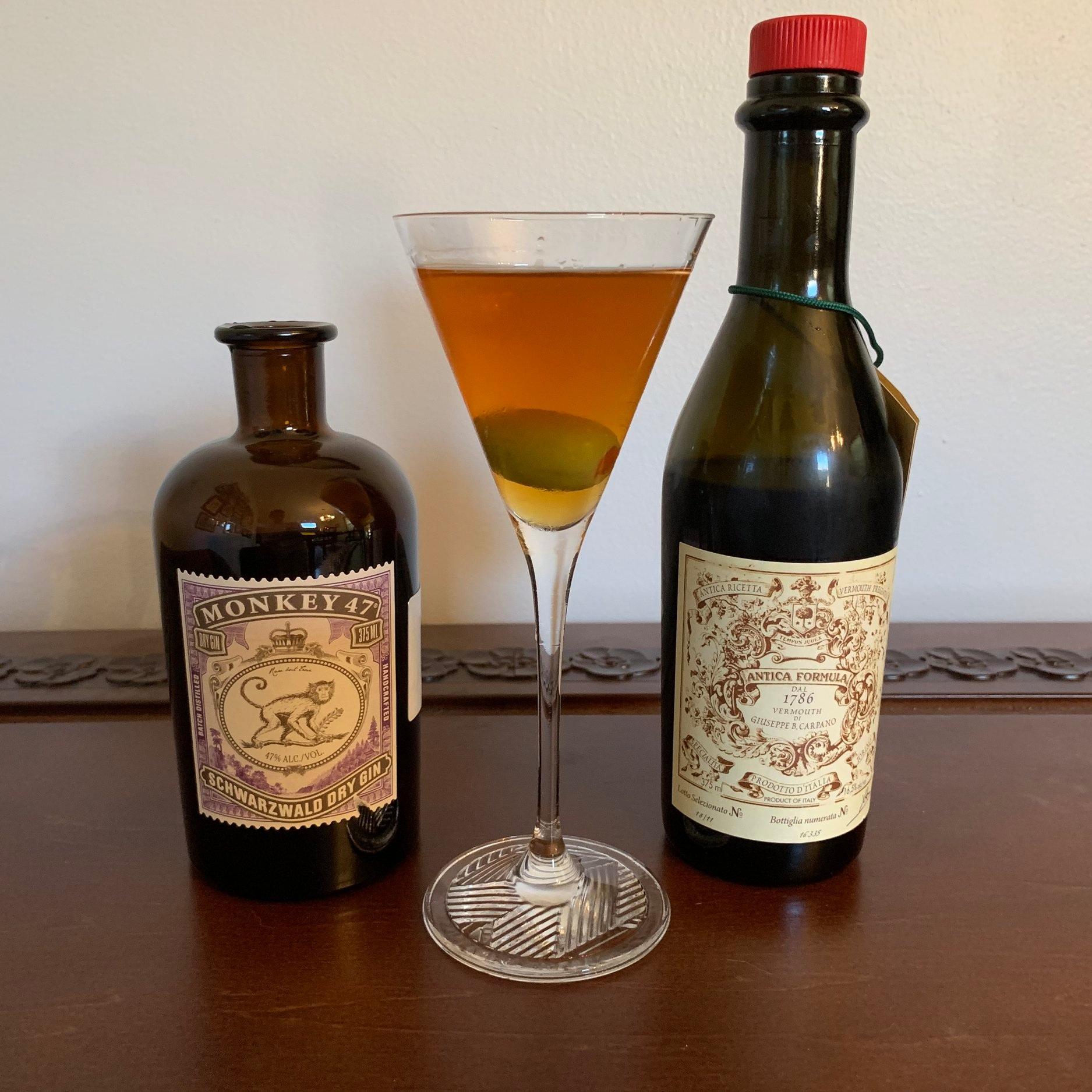 Dirty Martini—Gina Style