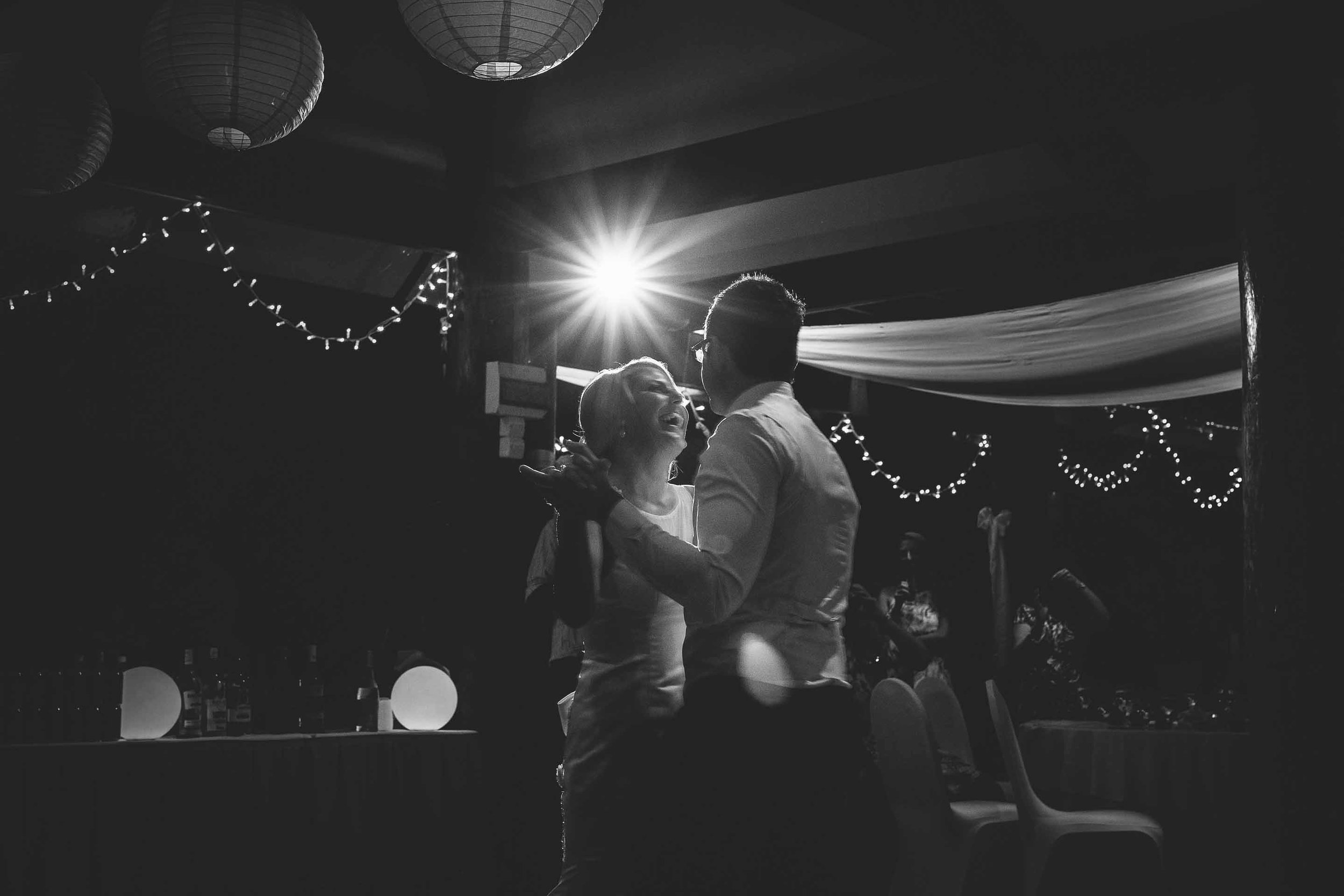 the first dance black & white