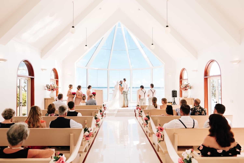 Shangri-La's Fijian Resort & Spa's beautiful seaside Wedding Chapel