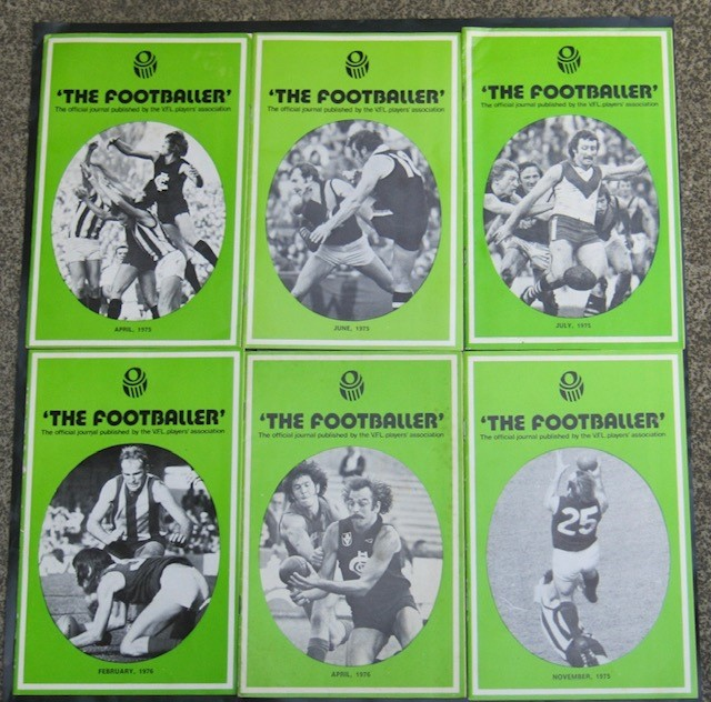 "1975-76 ""The Footballer"" Magazines"