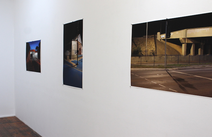'am/pm' exhibition install image.