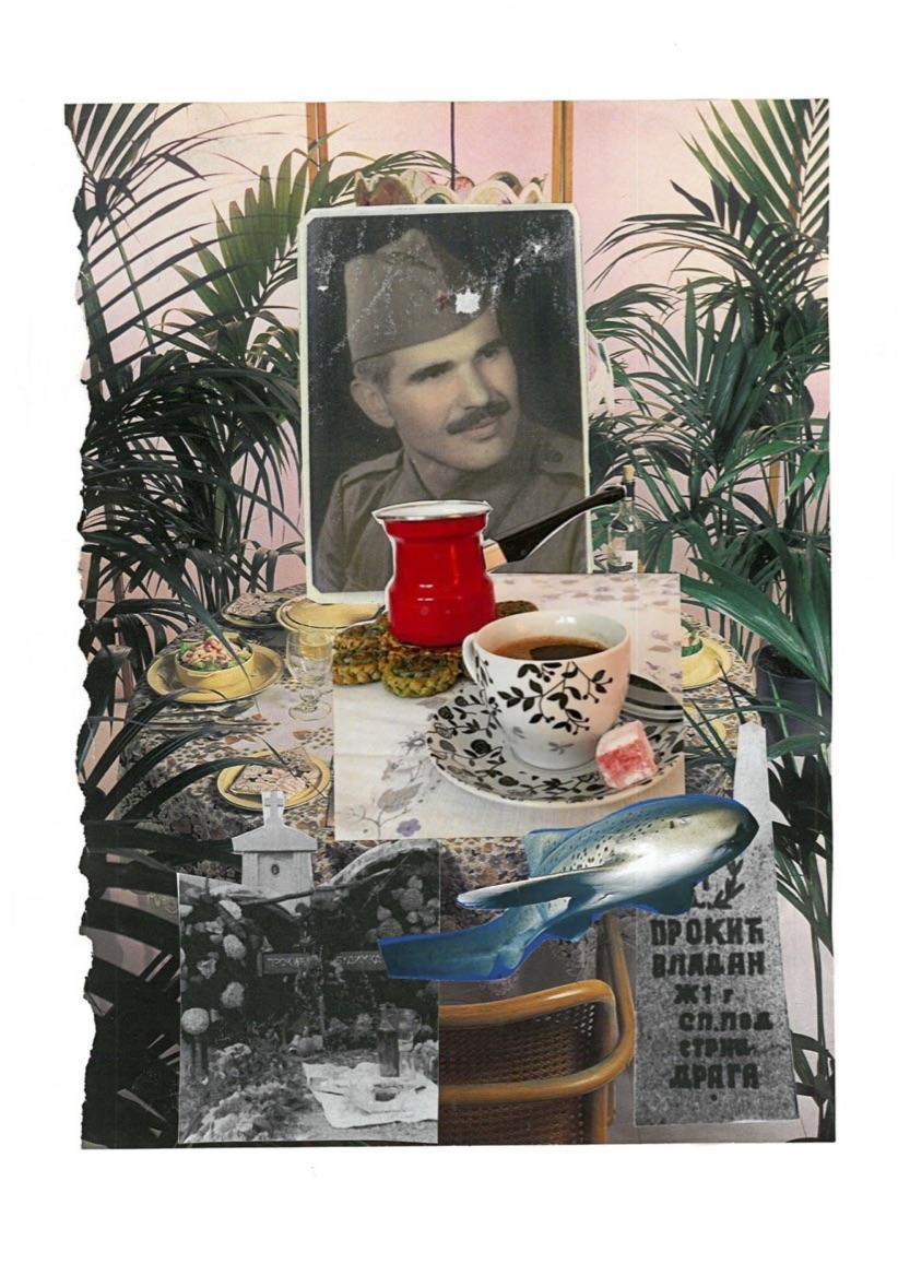'Ratluk/Turkish Delight', 2018, photo collage, 29.7x42cm