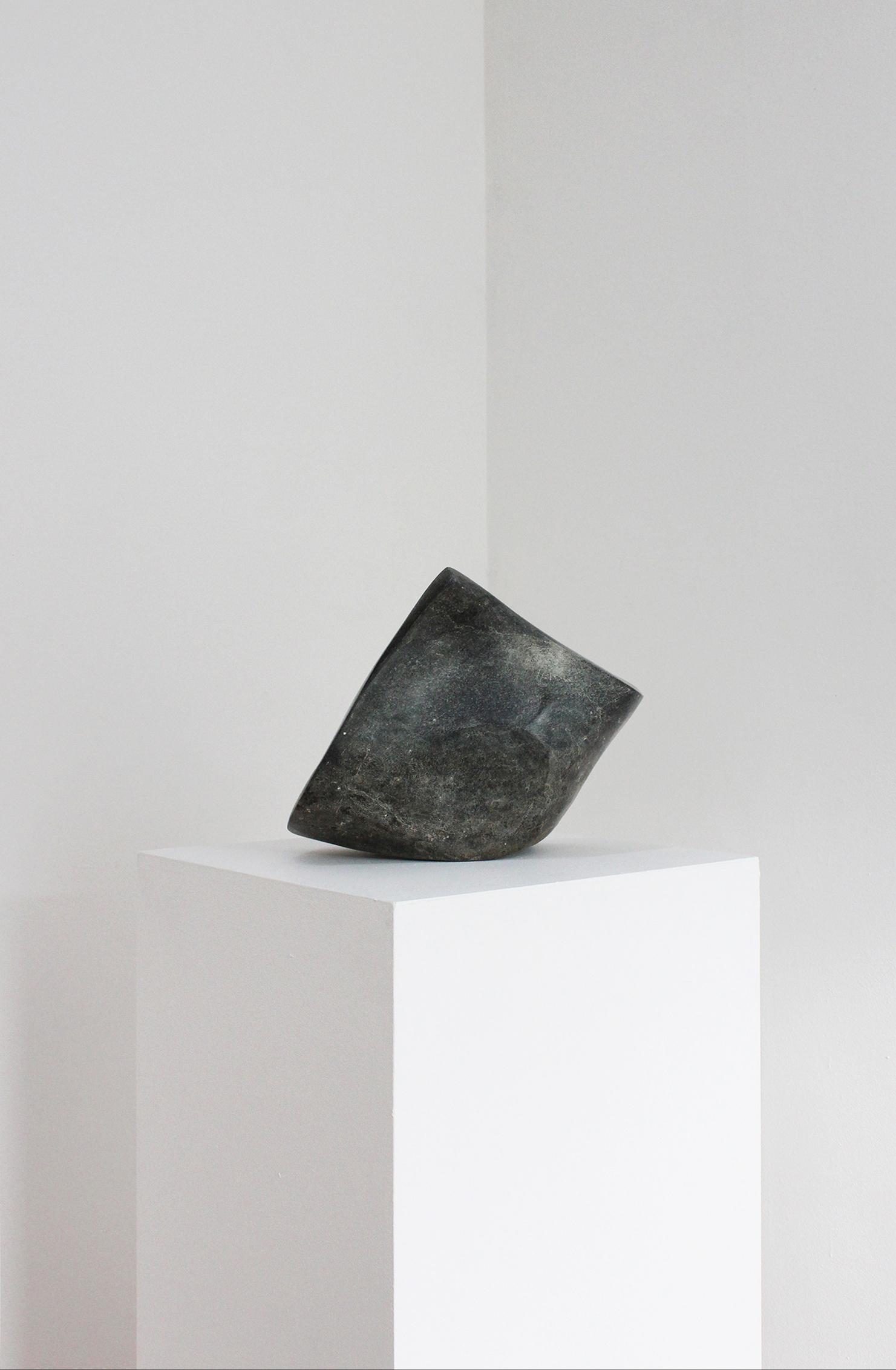 Overcast, Soapstone, 26x30x18cm $1050