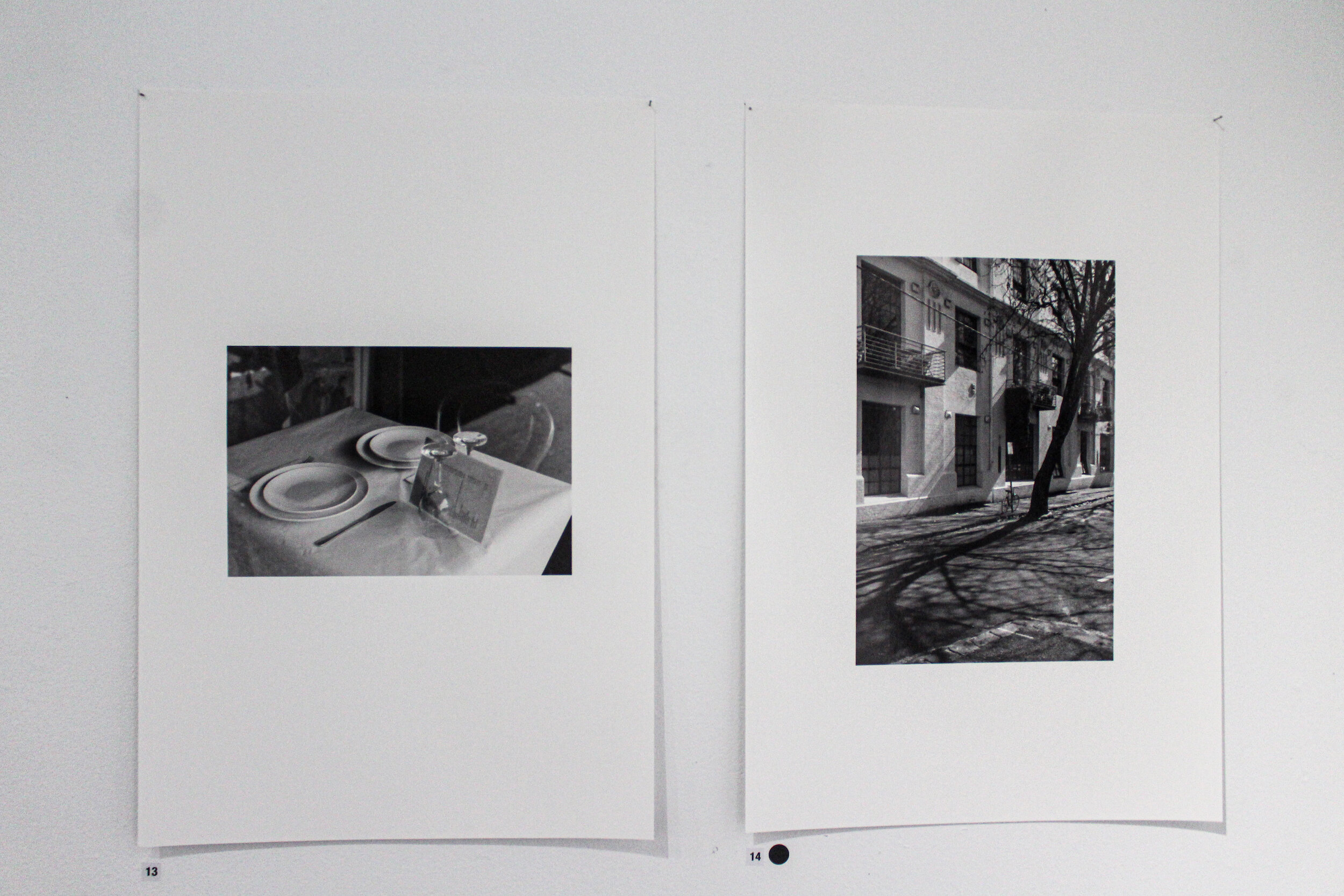 Richard Gerraty,  George Street,  giclée print, 18 x 27cm;  Kerr Street , giclée print, 18 x 25cm