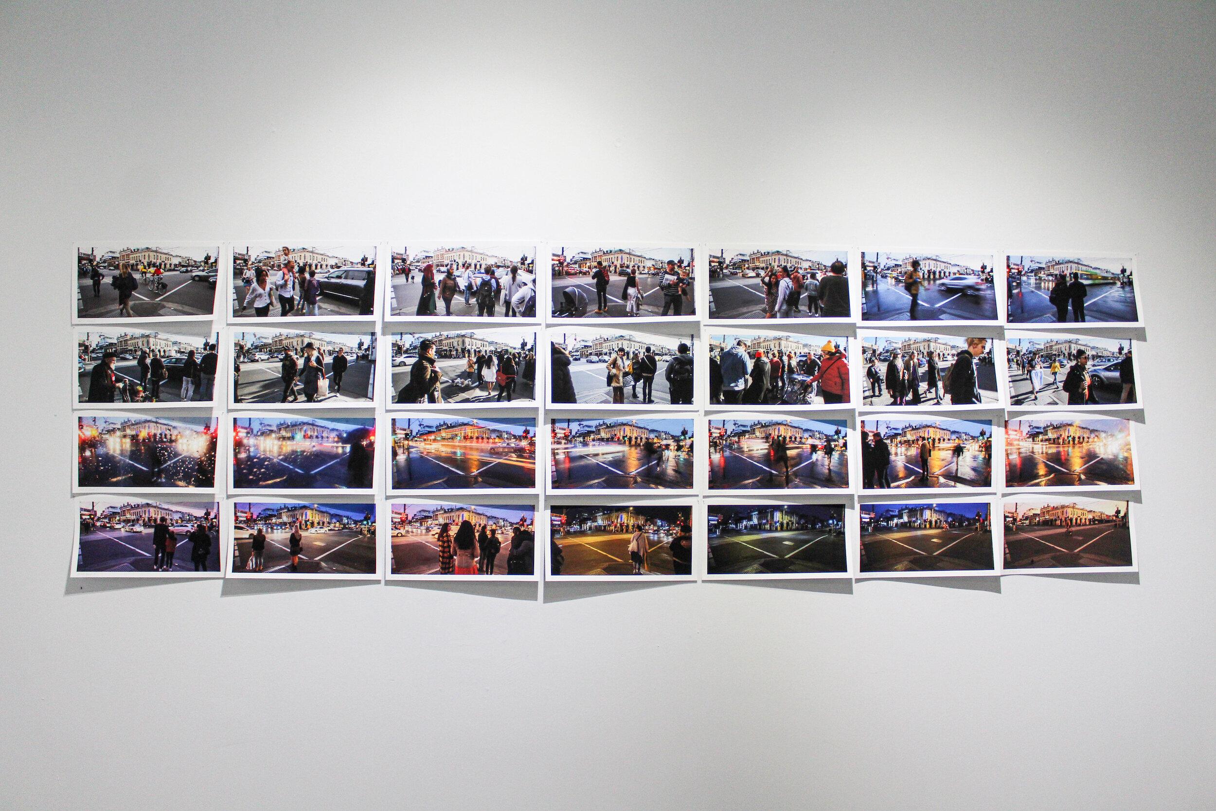 Ian Kuchel.  Acts 1 to 4, 7 scenes each , giclée prints, 39x19cm