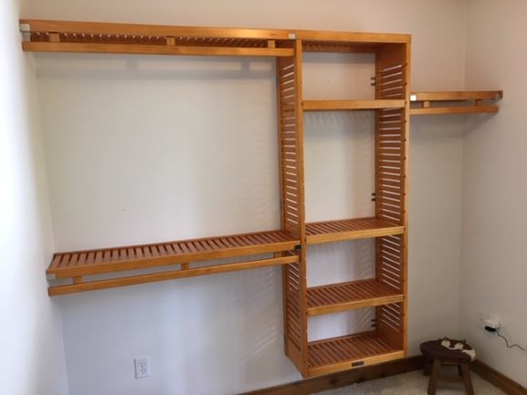 Closet Organization System and Closet Shelf Install