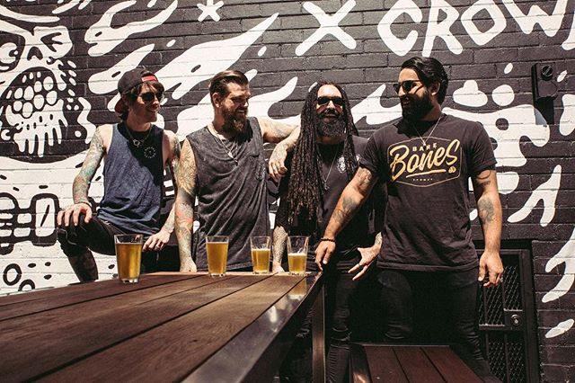 The old drinkin' hole. Bless you @CrowBarSyd 🖤  #Crowbar #CrowbarSyd #FANGZ #Beer 📷 @tomwilkinson__