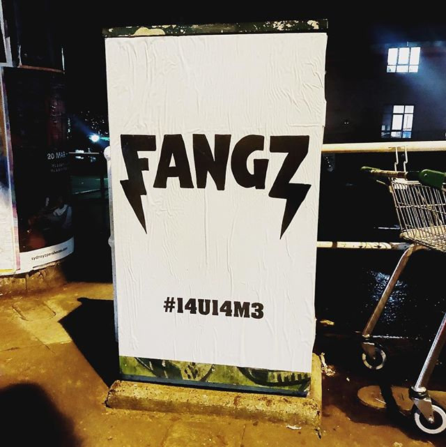 Seen any of these around?  #FANGZ #14U14M3