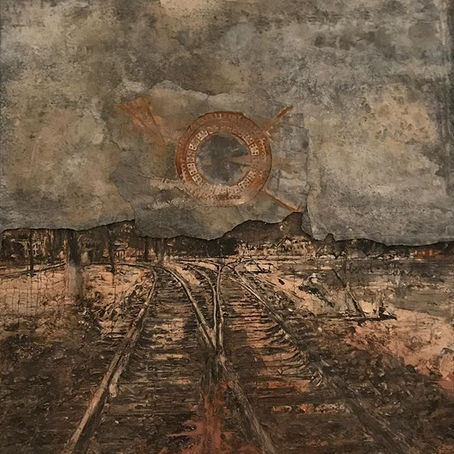 Inspirational visit to The National Gallery in Canberra. Luscious textures, colours and pattern galore in the modernist and aboriginal works. #nationalgallerycanberra #anselmkiefer #modernart #artistontour