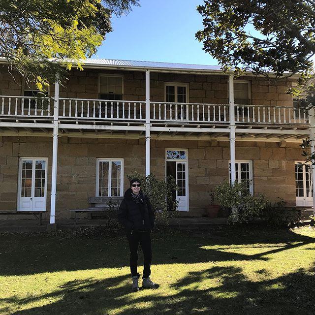 A privilege to be able to visit inside the home and studio of the late great Australian artist Arthur Boyd. #bundanontrust #arthurboydstudio #australianart #artistontour