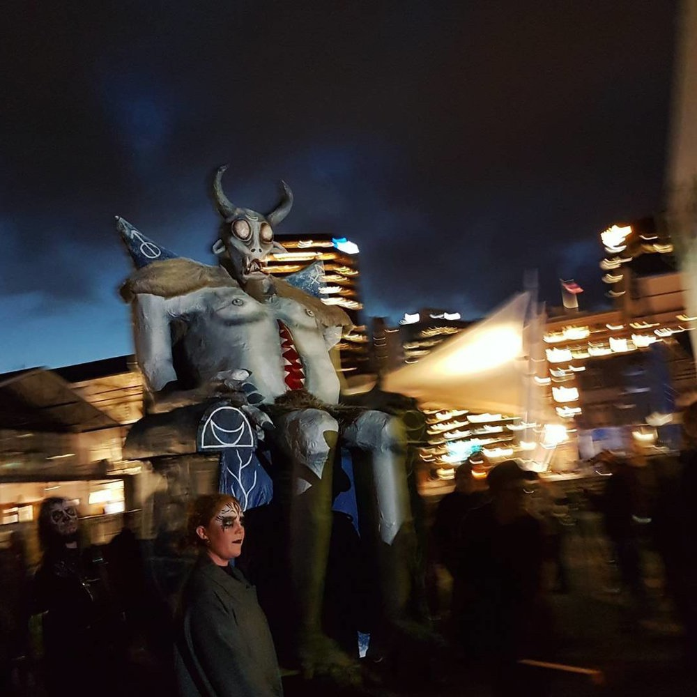 Solstice Procession from Lōēmis 2017 (picture by  David Alsop )