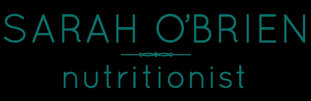 Sarah O'Brien Nutritionist