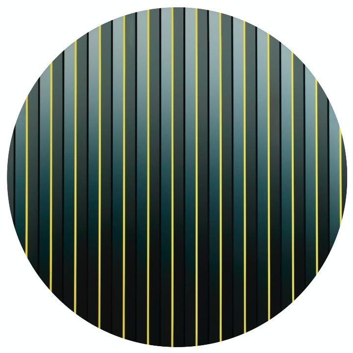 'Farbliche Veränderung', blau, grau - Walter Maurer