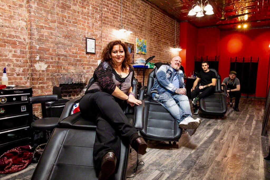 Redink Tattoo Studio offers laser tattoo removal, custom tattoo designs from professional artists.JPG