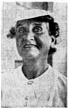 Alice Caporn at a Coolgardie nurses' reunion (1938)