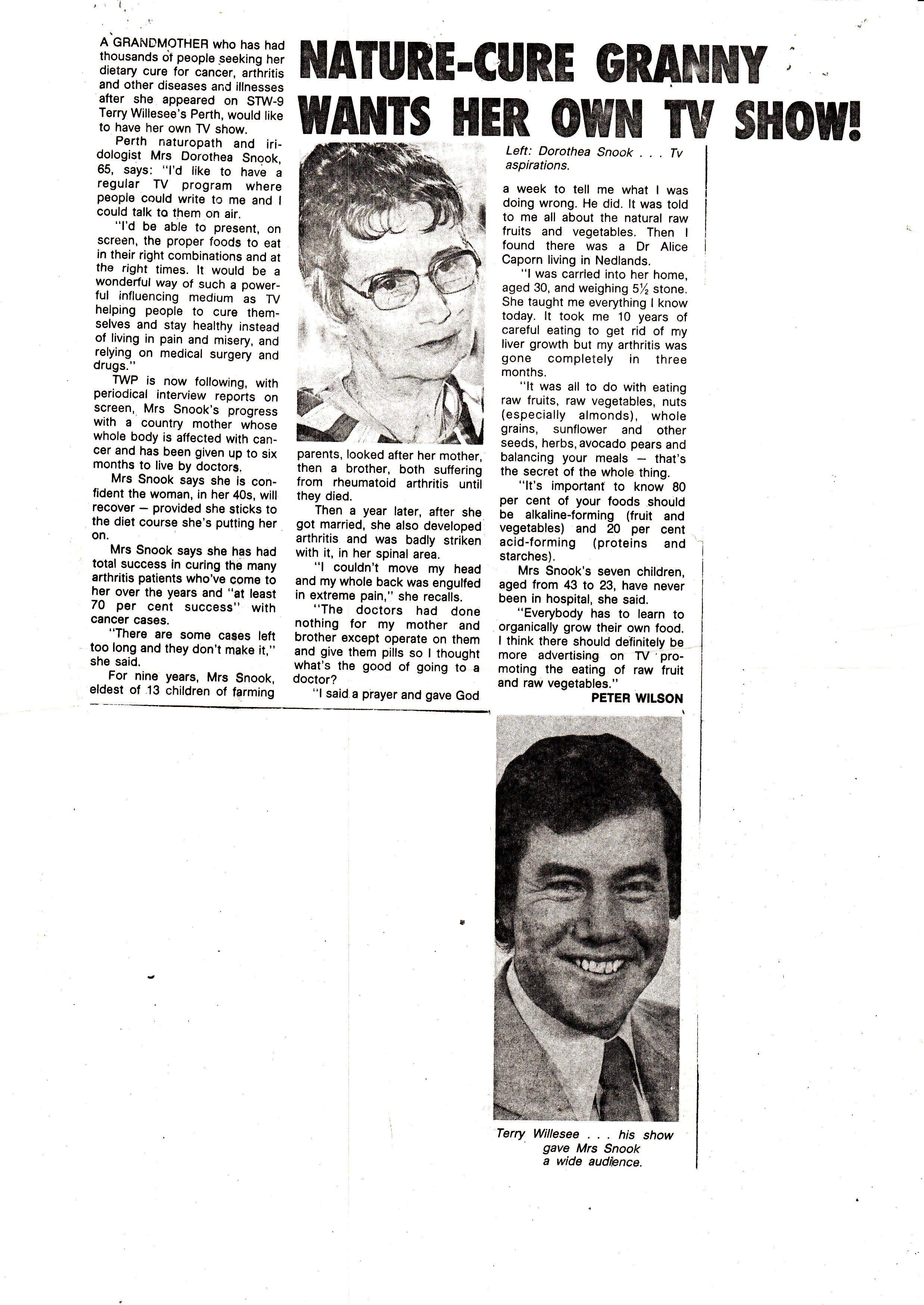 terry willesee TV newspaper report.jpg