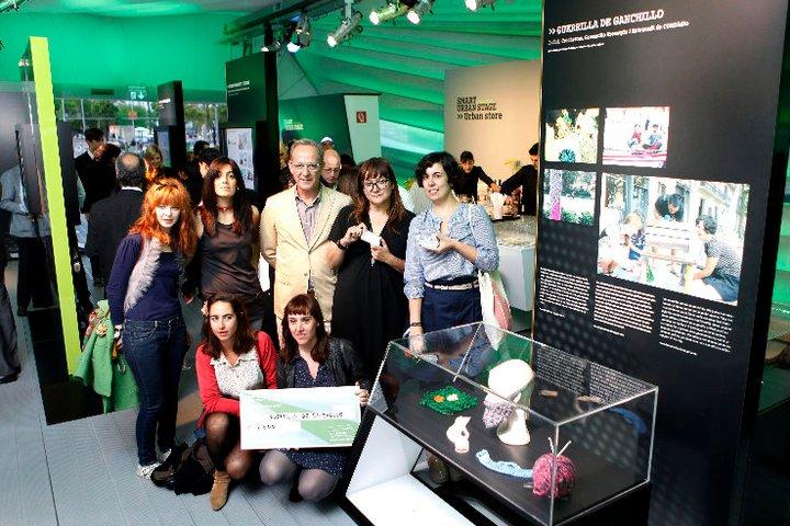 El proyecto de la Guerrilla de Ganxet es elegida por Isabel Coixet para la exposición de Smart y gana el 2º premio en el Smart Future Minds (2011)