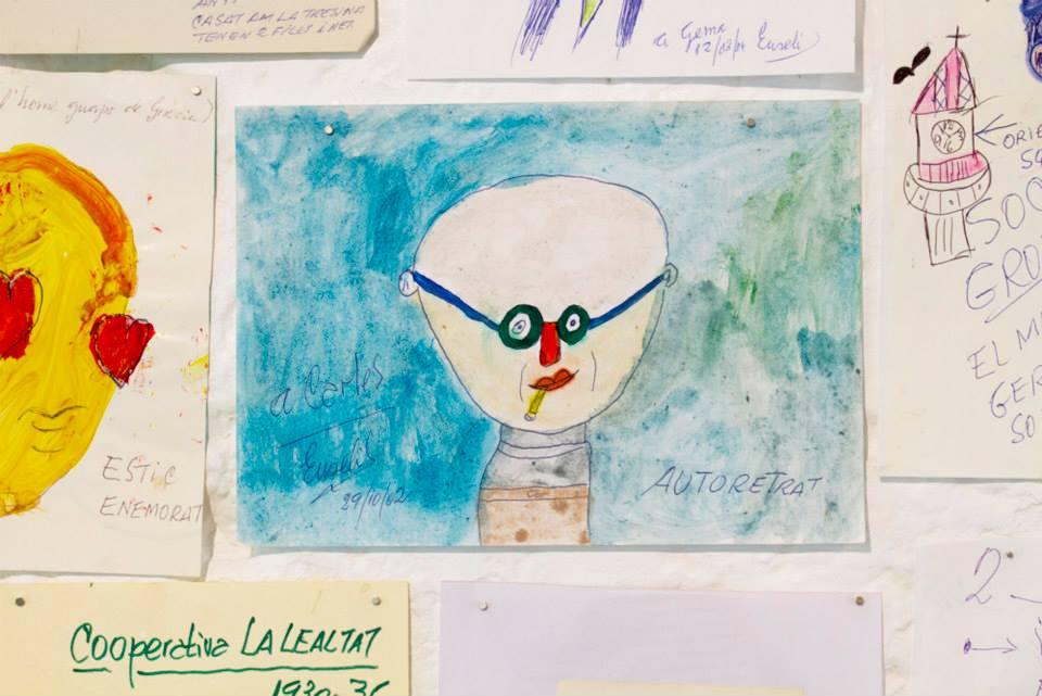 """Exposición """"L'Eusebi"""" junto  Mike i Maike   e n la galería Meeatings23, un tributo a una de las figuras más emblemáticas del barrio barcelonés de Gràcia. Eusebi es un artista autodidacta y autoproclamado, que inicia su práctica tras su jubilación, adoptando un nuevo modo de supervivencia – el del arte. Su obra nace de la necesidad de seguir adelante, de su auténtico deseo por conectarse con su alrededor y mantenerse anclado en su barrio."""