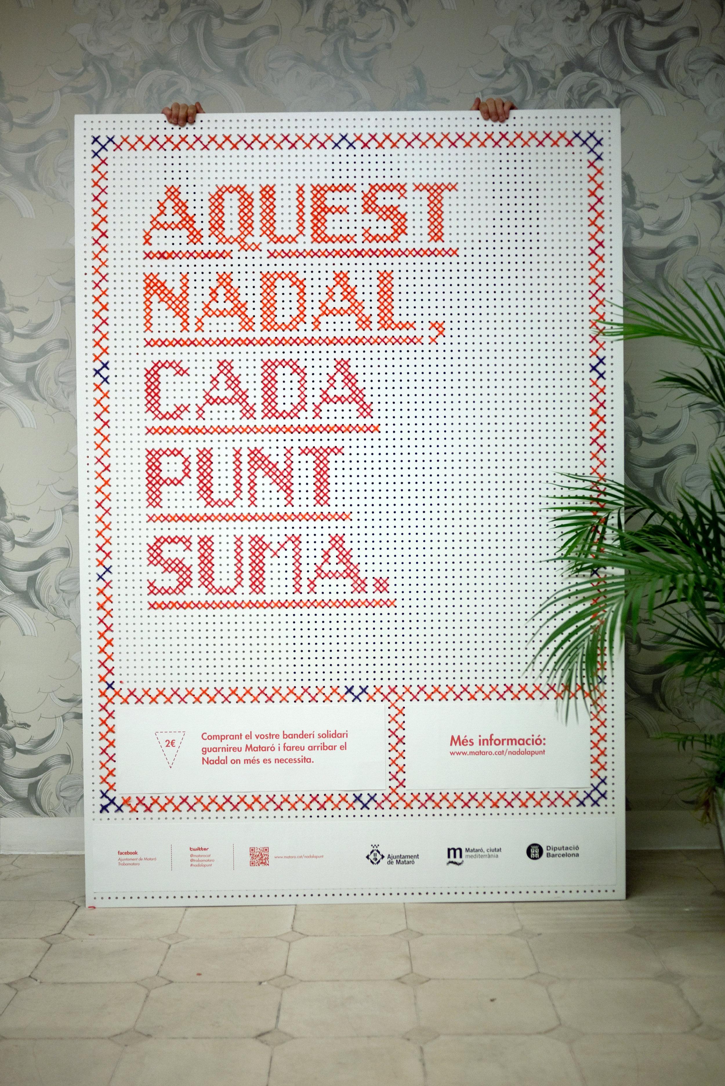 Campaña Navidad Ajuntament de Mataró para Evil Love con Núria Brunet.