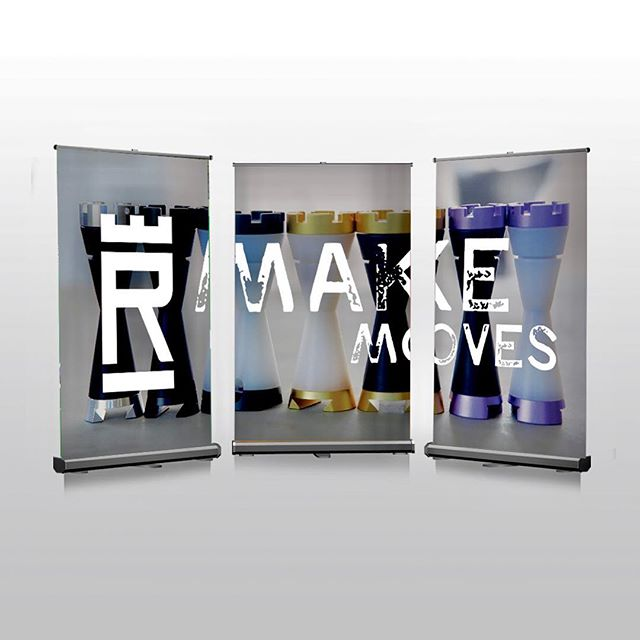 A banner up is an effective way to make a big impact with a smaller budget. We used three banner ups to make a triptych for @therookusa. In this case we not only helped our client with graphic design, but we also found the best product for their needs and budget. Send us an email or DM us for a quote. #inink #indigoinkmarketing #tradeshowbooth #tradeshow #promotionalproducts #promotionalmarketing #neverstopcreating #graphicdesign