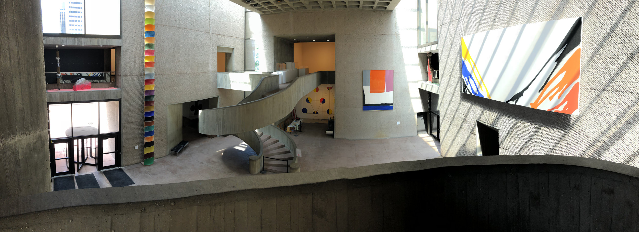 Everson Museum Sculpture Court – 2018