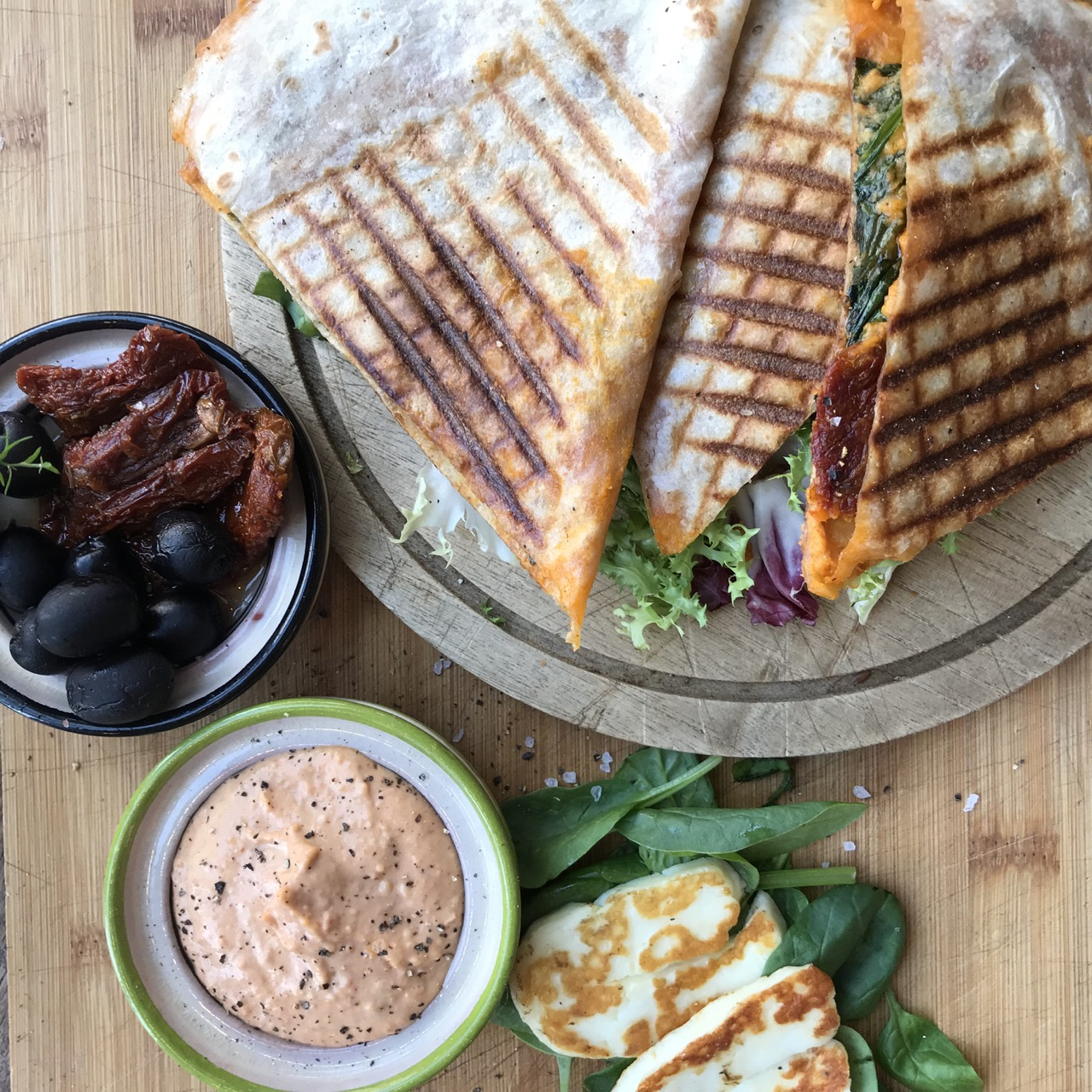 """""""The coffee I had was great and the quesadillas were very tasty. A nice place to have a coffee and a snack with plenty of natural light."""""""