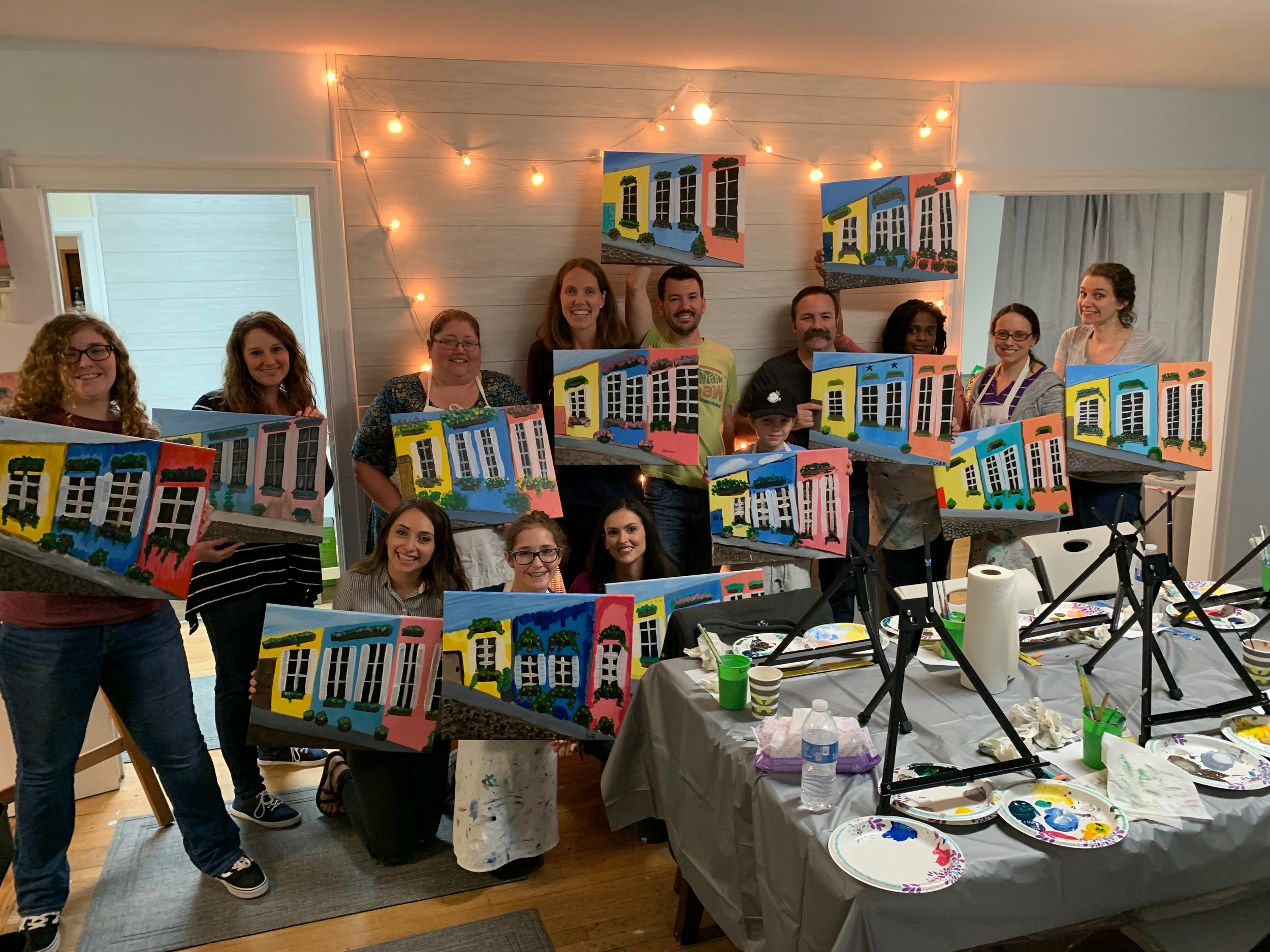 PAINT & SIP CLASSES $35 TUES-SAT - Looking for something fun to do with friends, a date, or just have some me time? Join us for one of our social Paint & Sip Classes! Guaranteed a good time! We have great music, bottled water and a coffee bar gratis. ** Make sure you check the top of our page and Facebook for all of our Promos to SAVE on your reservations. See y'all soon!